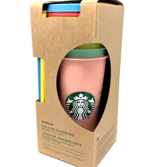 Starbucks Accessories - Starbucks color changing cups